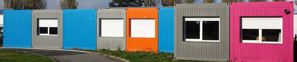bureaux modulaires Containers Solutions