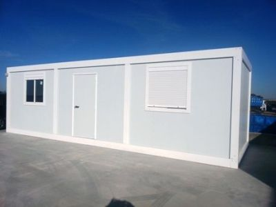Module de base en kit pour bungalow de chantier